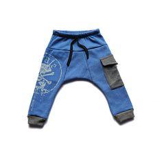 Boys pants -Pirat harem pants - Kindergarten pants - Baggy toddler pants  - Training pants on Etsy, 104.50₪