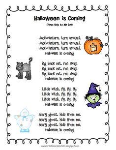 Albanese's Kindergarten Class: Halloween is coming. Halloween Songs For Toddlers, Halloween Music, Toddler Halloween, Halloween Songs Preschool, Halloween Activities, Halloween Books, Halloween 2020, Easy Halloween, Halloween Crafts