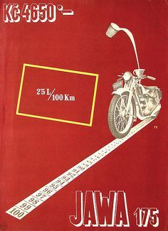 Jawa 175. Poster by František Zelenka. 1930s | Flickr - Photo Sharing!