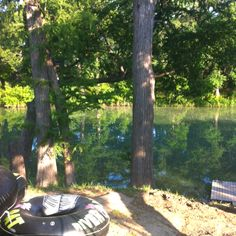 Camping on the Guadalupe River