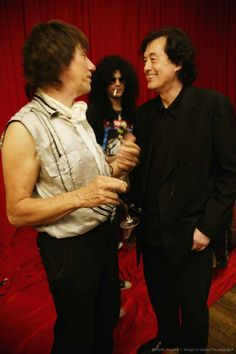 Jeff Beck,Slash and Jimmy Page