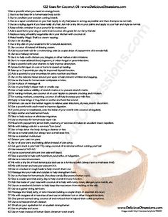 122-Uses-for-Coconut-Oil-Page-1.jpg (612×792)