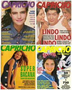revista capricho anos 90