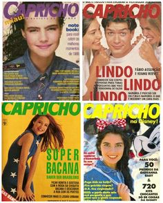revista capricho anos 90 - Google Search