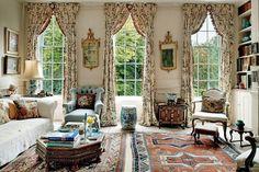 Lady Wakefield Chintz Curtains