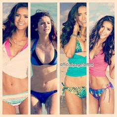 Nina Dobrev = perfection Hot Bikini, Bikini Girls, Bikini Babes, Bikini Swimwear, Ian And Nina, Nina Dovrev, Vampire Diaries, Nina Dobrev Style, Bikinis For Teens
