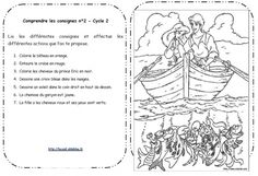Lire et comprendre les consignes Cycle 2 Cycle 2, Teaching French, Lus, French Language, Homeschool, Classroom, Reading, Style, Brothers Grimm