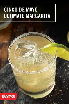 With one part tequila, one part lime juice, and a finish of ice—not to mention a rim of salt— you've got the recipe for a classic and delicious spring cocktail. In our opinion, it doesn't get much better than this Ultimate Margarita from BevMo! for Cinco de Mayo.