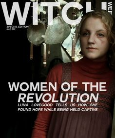 Women of the Revolution. SO cool! Oh, how I wish this article and magazine existed.