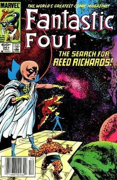 Fantastic Four #261 - The Search for Reed Richards! (Issue)