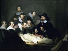Рембрандт.Николас Тульп, Nicolai Tulpii observationum Традиционной Медицины , Амстердам, 1652.