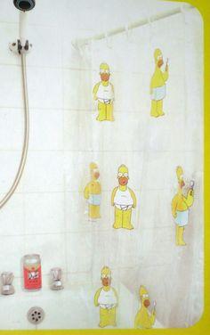 Bart Simpson Shower Curtain