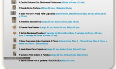 Kit Candy Bar E Para Mesa De Dulces Cupcakes Mdf Para Fiesta - $ 1,100.00 en Mercado Libre