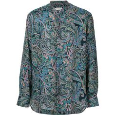 Etro paisley print shirt (1.105 BRL) ❤ liked on Polyvore featuring men's fashion, men's clothing, men's shirts, men's casual shirts, multicolour, mens extra long sleeve shirts, mens long sleeve linen shirts, mens bohemian shirts and mens casual linen shirts