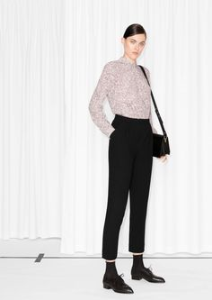 & Other Stories | Wrap Tailored Trousers