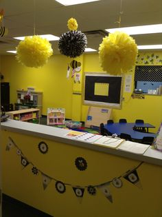 Busy Bees Classroom Theme