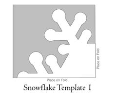 paperie crafts: How To Make Paper Snowflakes with templates