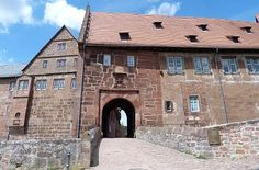 Burgeingang Burg Breuberg