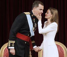 King Felipe VI and Queen Letizia of Spain June 19, 2014