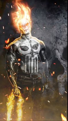 Punishment Ghost Rider - Werble App Animation by Bruno Costa Editor Ghost Rider Wallpaper, Lion Wallpaper, Skull Wallpaper, Avengers Wallpaper, Marvel Comic Universe, Marvel Comics Art, Animation, Motion Images, Ghost Rider Marvel