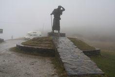 Monumento al Peregrino. O Cebreiro.  Camino de Santiago