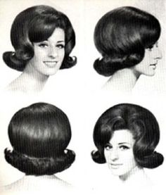 Flip hair style...wore my hair exactly like this in the 60s!