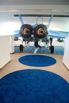 Borneo Colors design at the Finnish Defence Forces service center in Joensuu, Finland