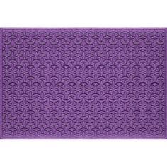 WaterGuard Elipse Indoor Outdoor Mat, Purple