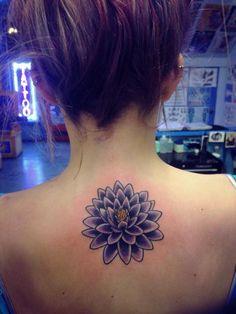 beautiful idea for shoulder; incorporate om symbol in center