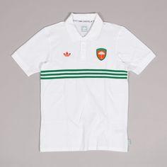 Adidas x Hélas Polo Shirt White
