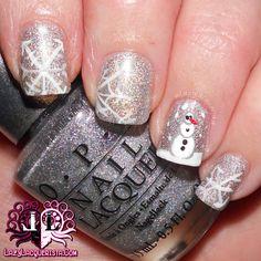 Lazy Lacquerista: Aussie Nails Monday :: Snowman