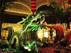 Dragon at the Belagio Hotel, Las Vegas