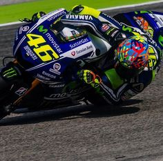 The seat is just that uncomfortable. Rossi at Misano, 2014.