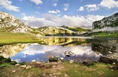 Asturias - Covadonga, Ercina meer - Picos de Europa
