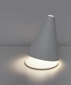 Federico Delrosso - Palpebra table lamp for Davide Groppi, 2009
