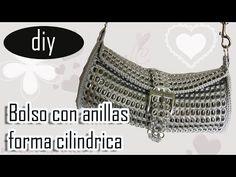 "Haz tu propio regalo de navidad: Bolsa de anillas de lata ""Karla"" parte 1 - YouTube"