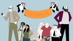 China, IL. An adorable adult cartoon now on adult swim about a college in a fictional city in Illinois.