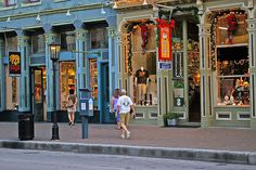 The Strand, Galveston Texas