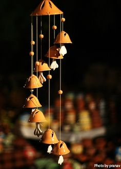 Decorative Ceramic Wind chime !!