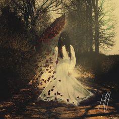 """""""April Showers"""" Fine Art Photograph Print https://www.etsy.com/listing/239857189/surreal-portrait-photograph-print"""