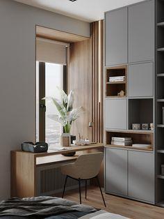 Study Room Design, Small Room Design, Home Room Design, Home Office Design, Home Office Decor, Home Interior Design, Interior Architecture, House Design, Home Decor