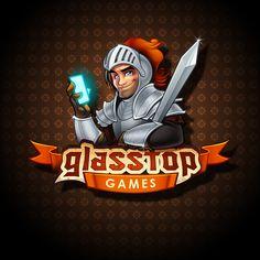 Glasstop Games Logo designby *SOSFactory