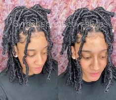 Faux Locs Hairstyles, Braided Hairstyles For Black Women, Dope Hairstyles, Protective Hairstyles, Protective Styles, Curly Hair Styles, Natural Hair Styles, Dreadlock Styles, Birthday Hair