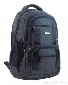 New Berry Elegantný polstrovaný školský batoh L18106 tmavo šedý : NEWBERRY - velkoobchod dámské kabelky a pánské tašky, peněženky, batohy, kožené zboží Sleeping Tent, Outdoor Stuff, Cloth Bags, Trekking, Backpacking, Safari, Hiking, Footwear, Travel