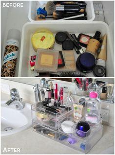 organising make up sp