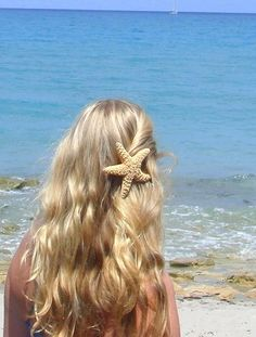 Large Starfish Clip Pin-Back