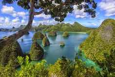 the Island that should be visited in Raja Ampat- Wayag Island