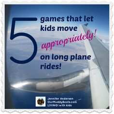 For family travel: 5 games to keep the kids entertained on long plane rides