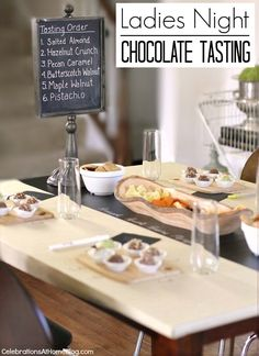 Get ready to host a ladies night chocolate tasting party with these ideas and tips! I'm excited to share this post as it's the first 'official' party I've hosted in the new house, not to mention I got to work with....GODIVA TRUFFLES! Not a bad day at the office, right! Let me set this up for you.