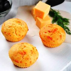 Cornbread, Muffins, Anna, Cooking Recipes, Vegetarian, Cupcakes, Cheese, Snacks, Baking